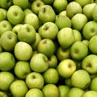 Green apple bunch
